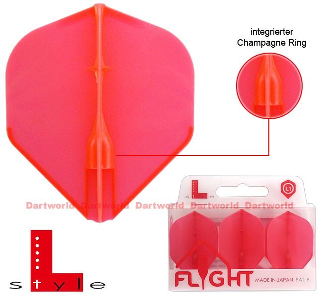L-STYLE Champagne Flights L1 Standard EZ Red