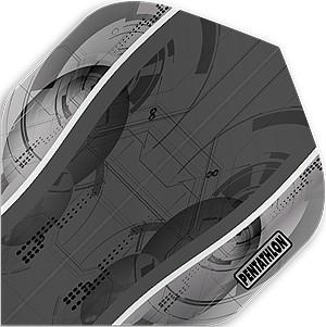Pentathlon Silver Edge Flights NO.2 grey