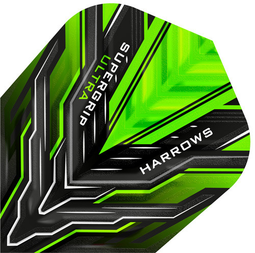 HARROWS Supergrip Ultra Flight Green
