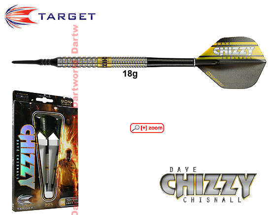 "TARGET Dave Chisnall ""Chizzy"" Pixelgrip"