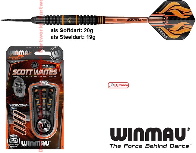WINMAU Scott Waites Black Brass