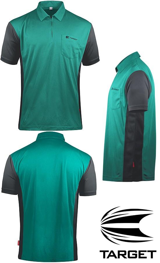 TARGET CP Hybrid 3 Shirt turquioise-grey