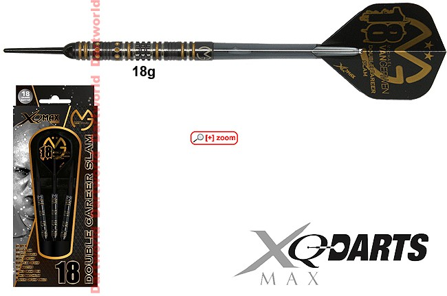 XQ-MAX Darts MvG Double Career Slam Edition (Michael van Gerwen)