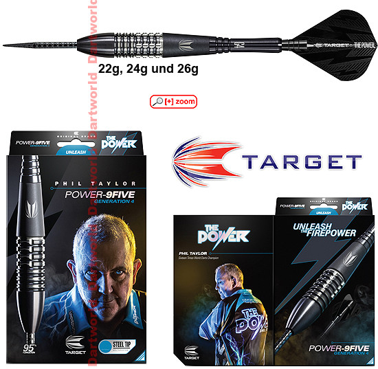 TARGET Power 9Five Gen4 (Phil Taylor)