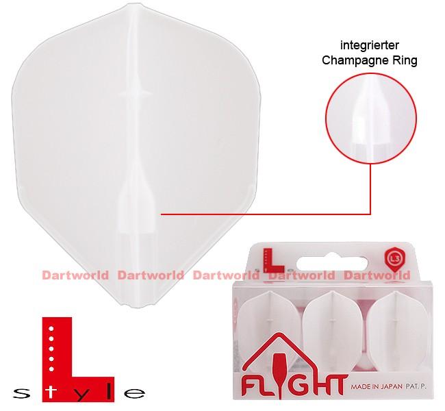 L-STYLE Champagne Flights L3 Standard EZ White
