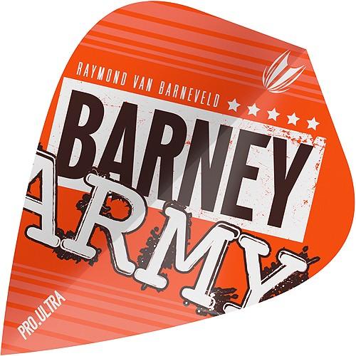 TARGET Barney Army Pro.Ultra Orange Kite