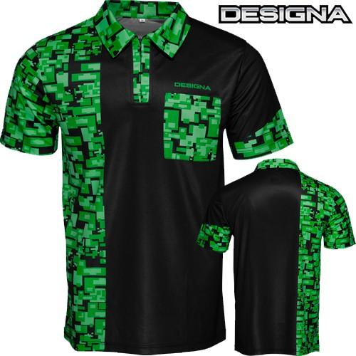 Designa Code 4 Dart Shirt green