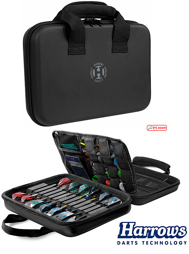 HARROWS Imperial Dart Case black