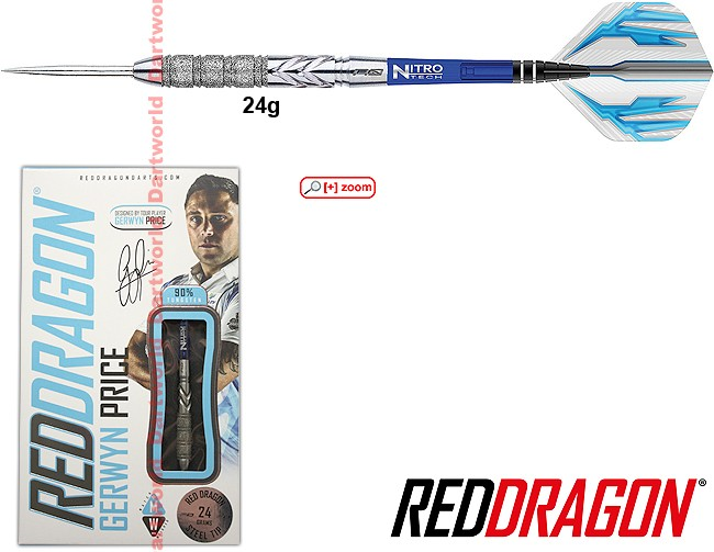 "REDDRAGON Gerwyn Price ""Iceman"" Element"
