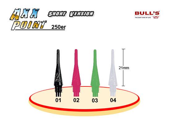 BULLS Axx Points short 250er Pack