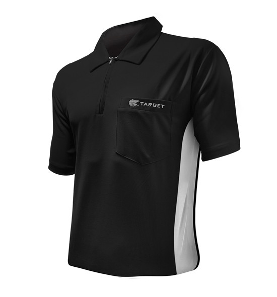 TARGET Hybrid Shirt black/white