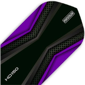Pentathlon HD150 Flights purple/black Slim
