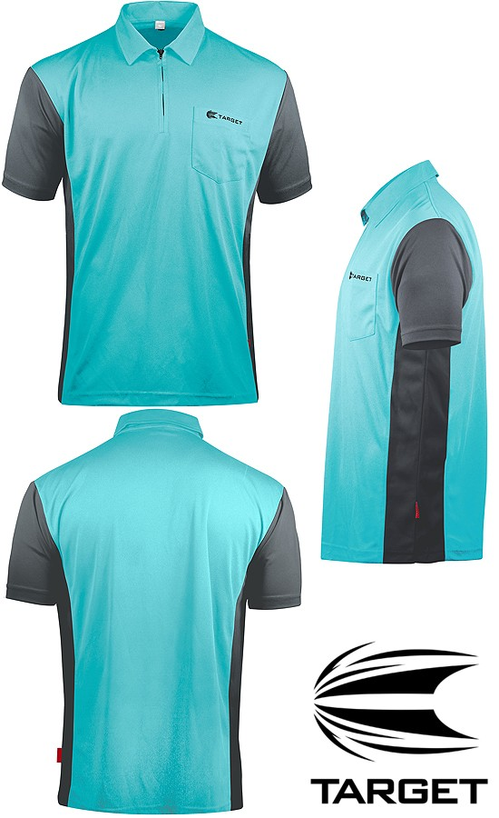 TARGET CP Hybrid 3 Shirt sky blue-grey