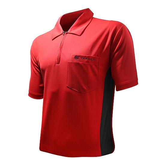 TARGET Hybrid Shirt red/black