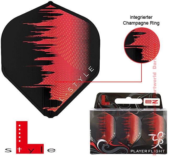 L-STYLE L1 EZ Standard David Evans Type A Red