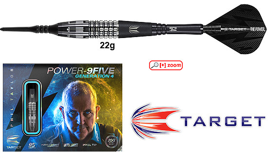 TARGET Power 9Five Gen4 Japan Edition (Phil Taylor)