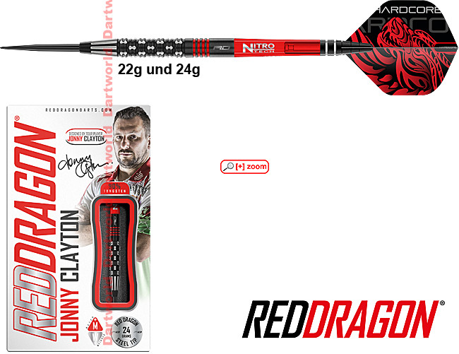 RED DRAGON Jonny Clayton Premier League Special Edition