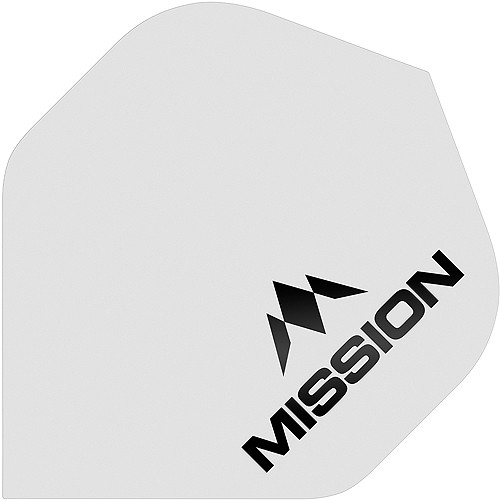 MISSION Logo 100 No2 Matt White