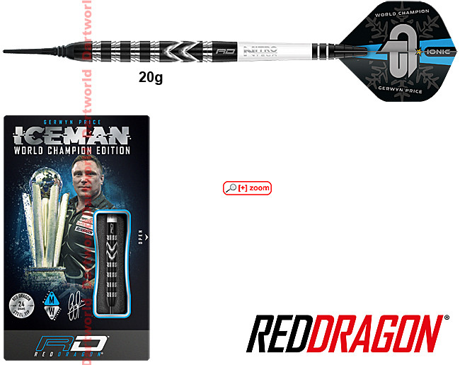 RED DRAGON Gerwyn Price World Champion 2021 Special Edition Soft