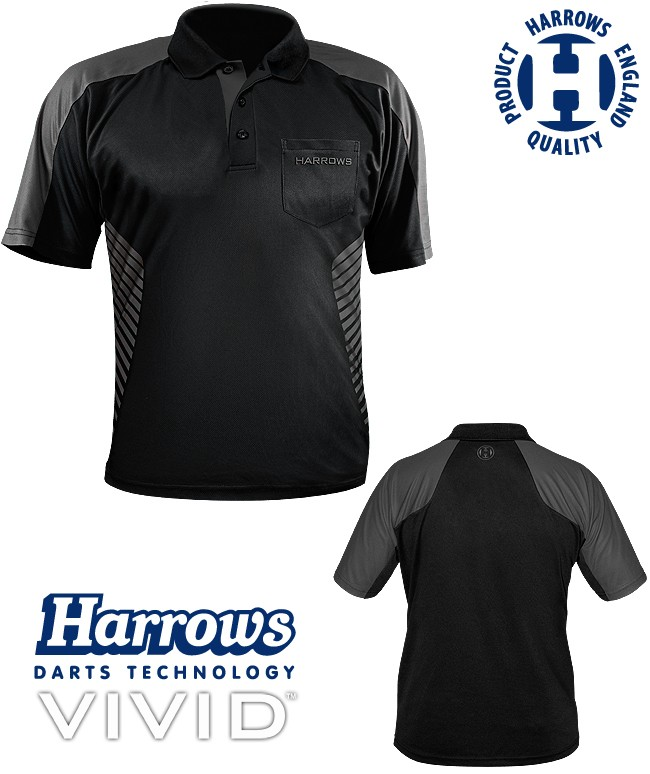 HARROWS Vivid Shirt black/grey
