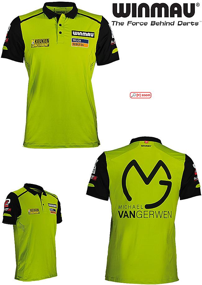 WINMAU Michael van Gerwen MvG Pro-Line Shirt