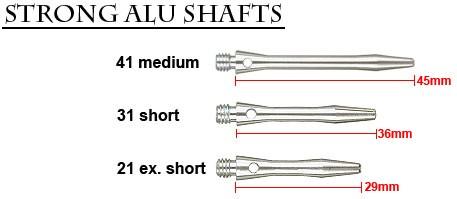 Strong Alu silver