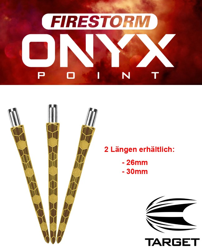 TARGET Firestorm Point Gold Onyx