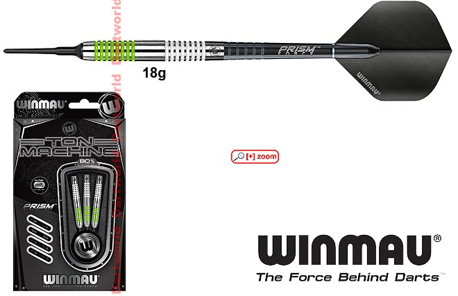 WINMAU Ton Machine Soft 18g