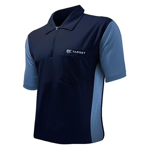 TARGET CP Hybrid 3 Shirt navy / light blue