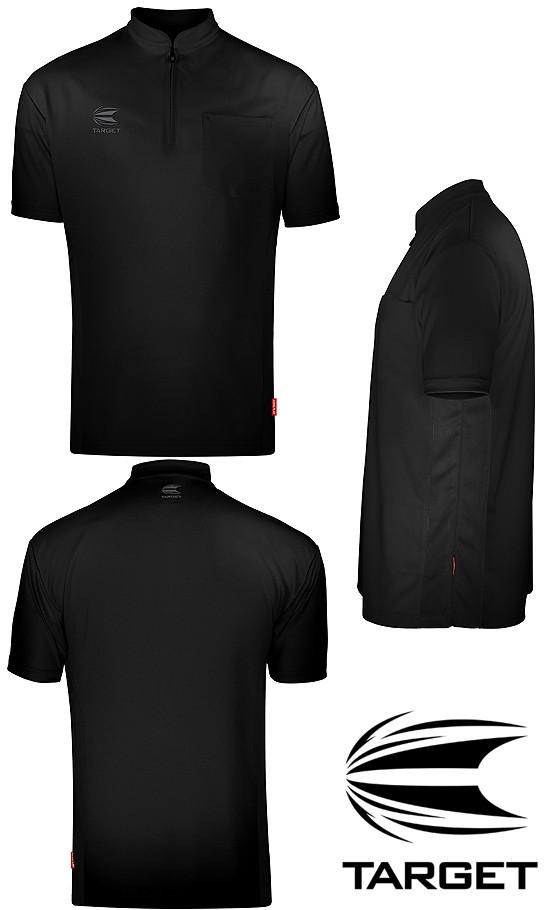 TARGET CP Collarless Shirt Black/Blac