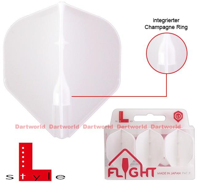 L-STYLE Champagne Flights L1 Standard EZ White