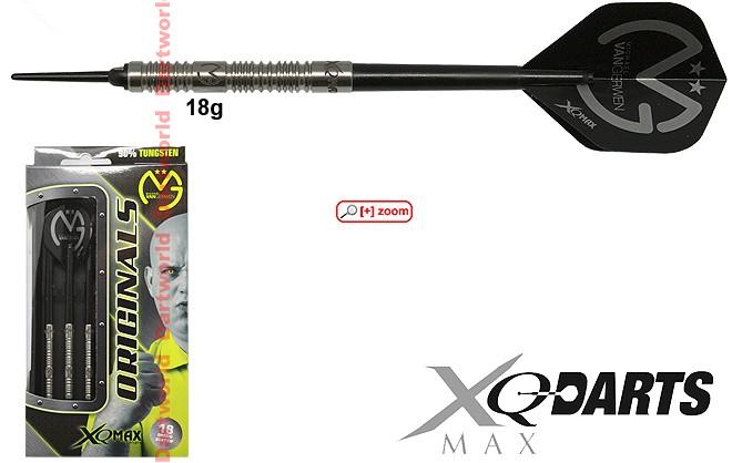 XQ DARTS MAX Michael van Gerwen 18g