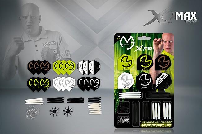 XQ-MAX MvG Dart Accessory Kit (Michael van Gerwen)