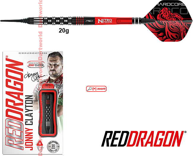 RED DRAGON Jonny Clayton Premier League Special Edition Soft