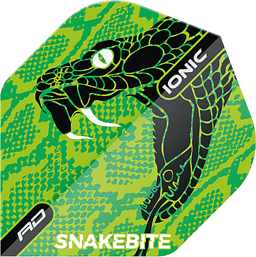 RED DRAGON Hardcore Ionic Snakebite Green Head