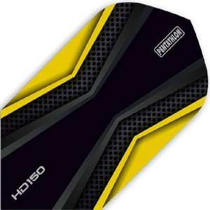Pentathlon HD150 Flights yellow/black Slim