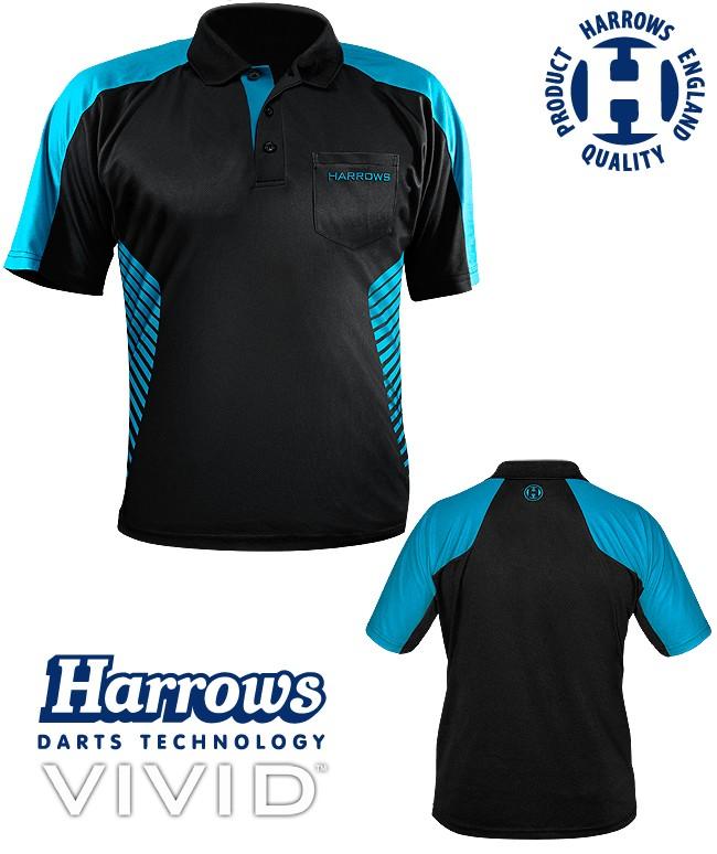 HARROWS Vivid Shirt black/aqua