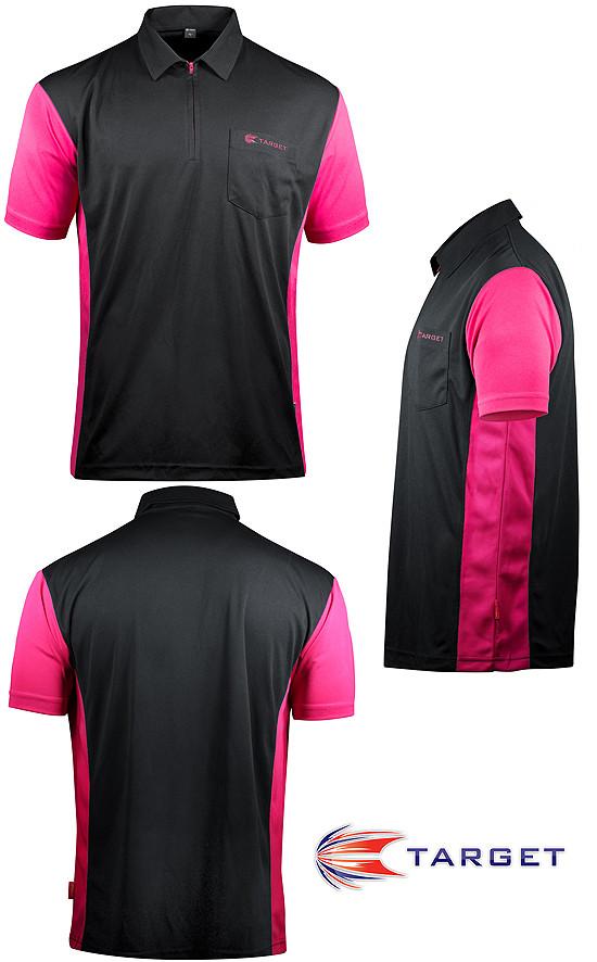 TARGET CP Hybrid 3 Shirt black / pink