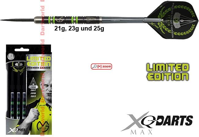 XQ-MAX Michael van Gerwen Premier League Limited Edition