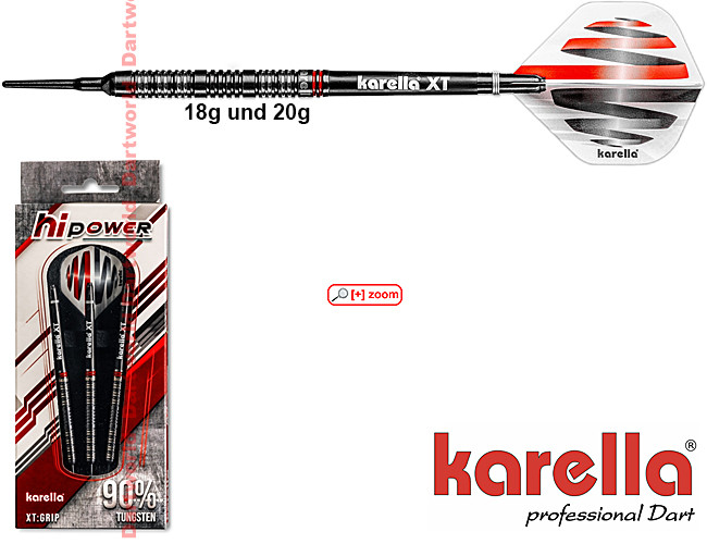 KARELLA HiPower black Softdarts