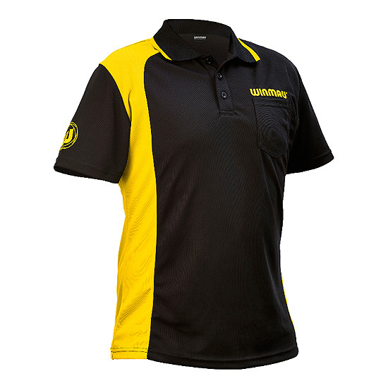 WINMAU Wincool 2 Dartshirt yellow
