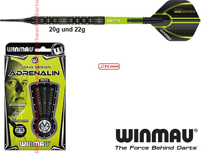 WINMAU Michael van Gerwen MvG Adrenalin Soft