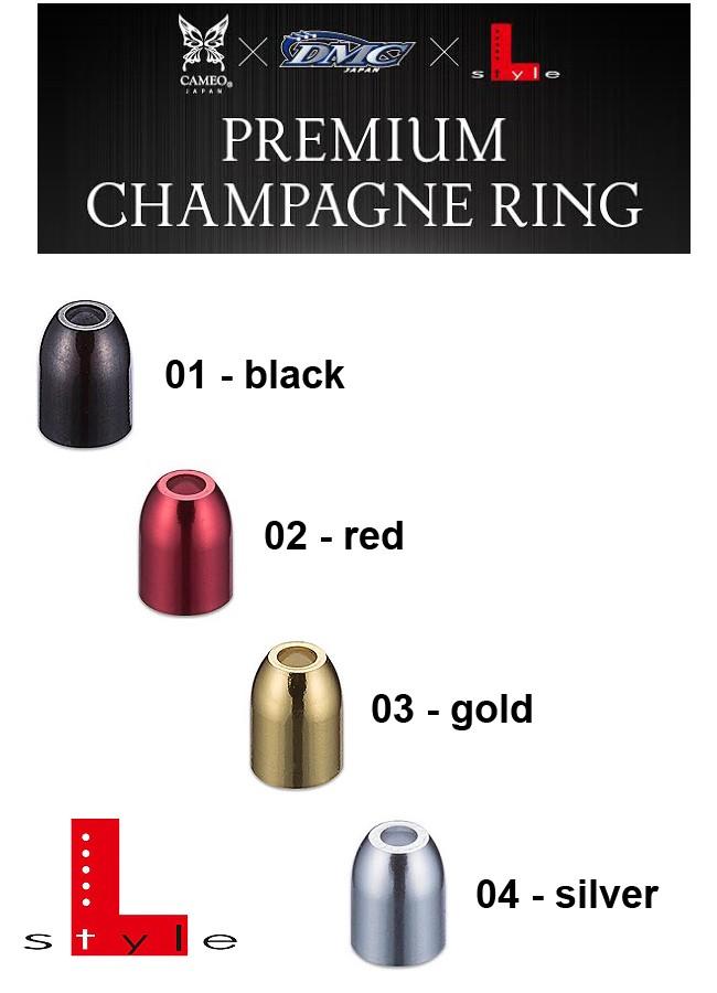 L-STYLE Premium Champagne Ring