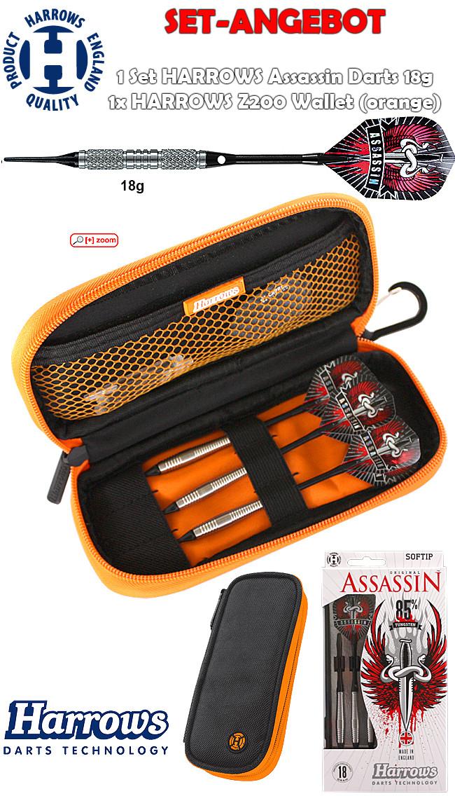 HARROWS SET - Assassin 85 + Z200 Wallet (orange)