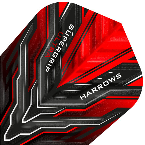 HARROWS Supergrip Ultra Flight Red