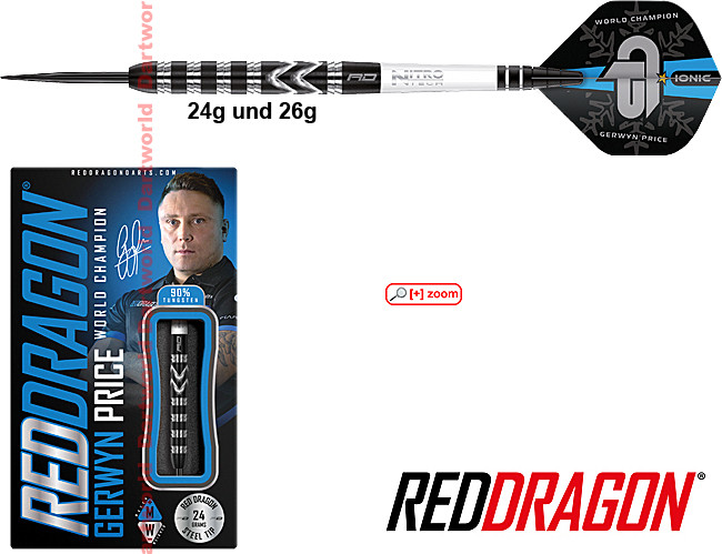 RED DRAGON Gerwyn Price World Champion 2021 Special Edition