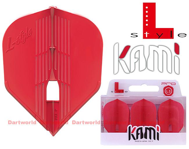 L-STYLE L3KPro Kami Shape Red